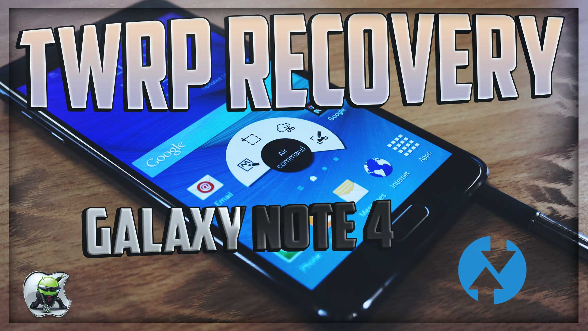 Custom Recovery Samsung Galaxy Note 4