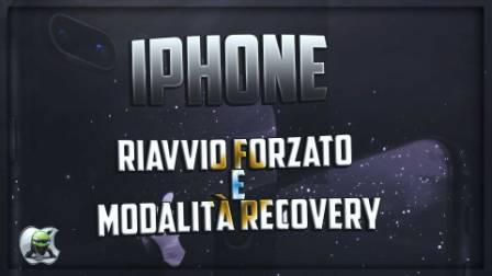 iphone riavvio forzato