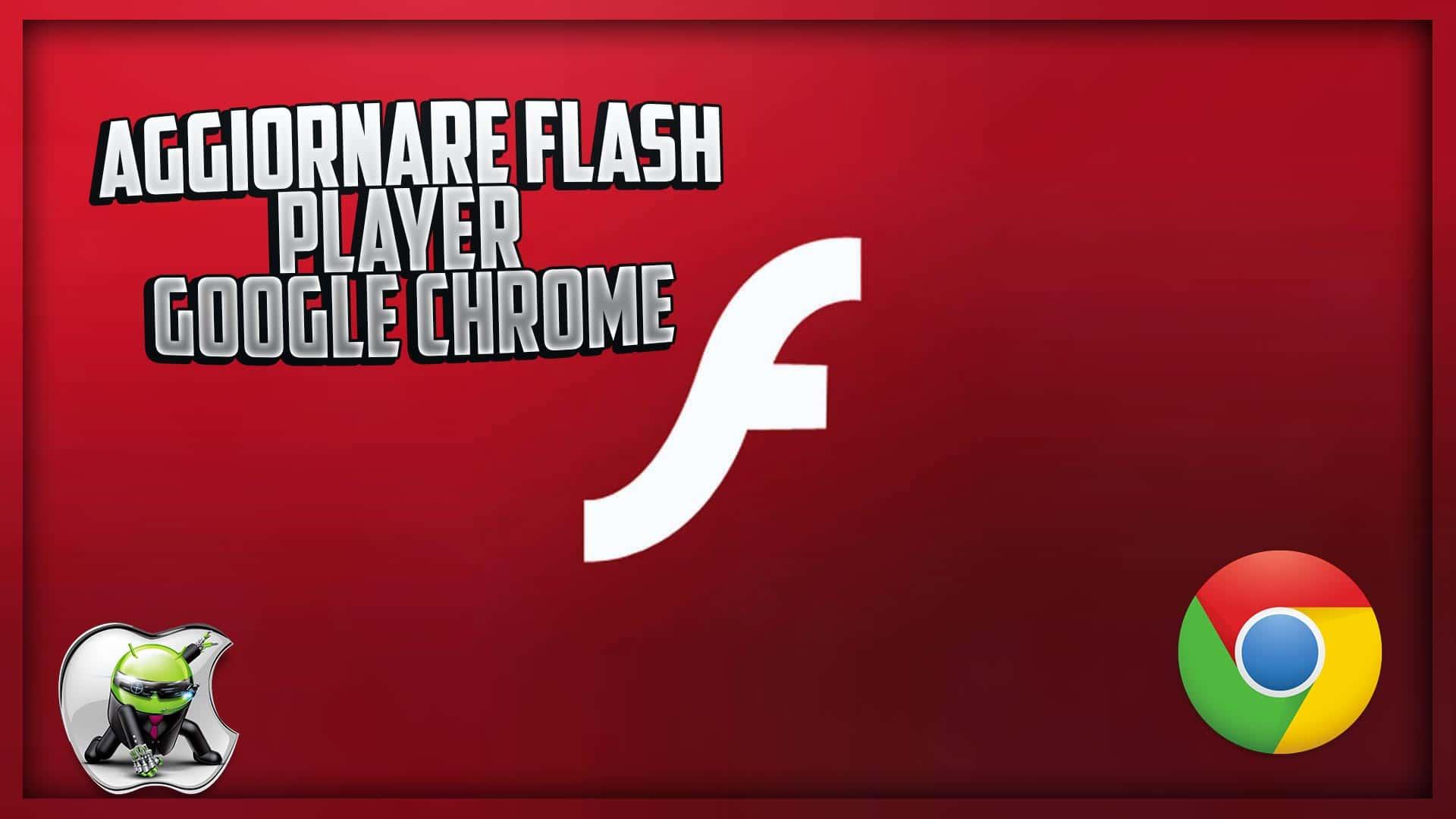 aggiornare flash player