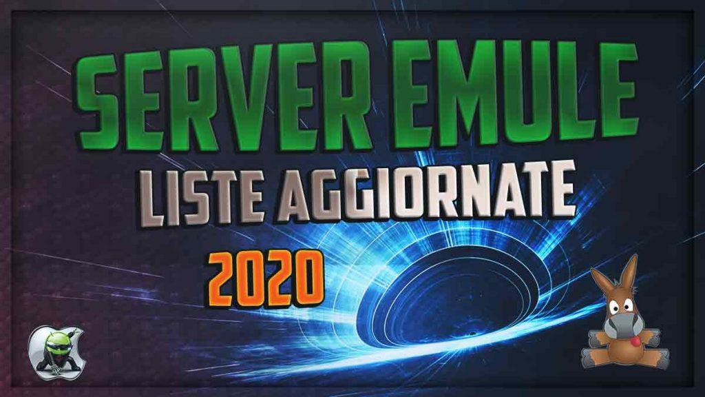 Server Emule 2020